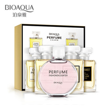 BIOAQUA Brand 5pcs/lot Liquid Female Perfumes 100% Natural Fragrance Spray Scent Parfum For Women Antiperspirant in Bottles(China)