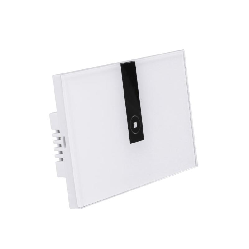 Wifi Smart Switch 1CH Wall Switch Wireless Touch Panel App Remote Control Amazon Alexa Google Home for ios Android Phone US Plug<br>