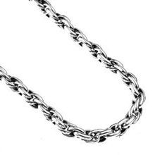 925 Pure Silver Necklace Male Chain Men's Chain Link Necklace For Men Long Necklace Body Chain Men Jewelry CHoker Necklace