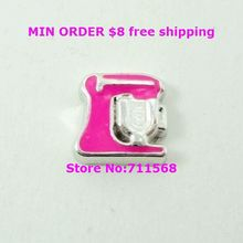 Kitchen Mixer Floating Charms Small Appliance Floating Charm Pendant For DIY Glass Floating Locket Accessories(China)