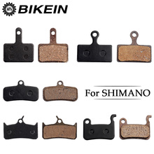 BIKEIN 4 Pairs Cycling MTB Bicycle Bike Disc Brake Pads Semi-Metallic Brake Pads For SHIMANO TEKTRO ZOOM HB-870 ALHONGA WINZIP(China)