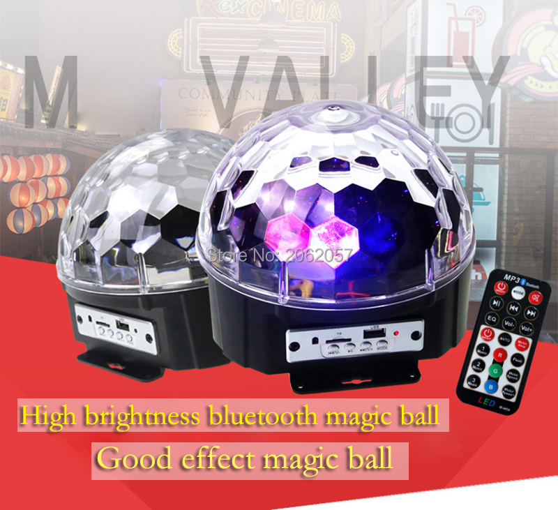 fast shipping Disco ball 256 carfacetadoras lens crystal ball wireless bluetooth projectors for christmas dj wedding party rotating laser light (19)