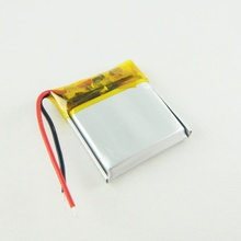 3.7V polymer lithium battery 402020 120MAH MP3 small speaker smart Bracelet Bluetooth toys Rechargeable Li-ion Cell