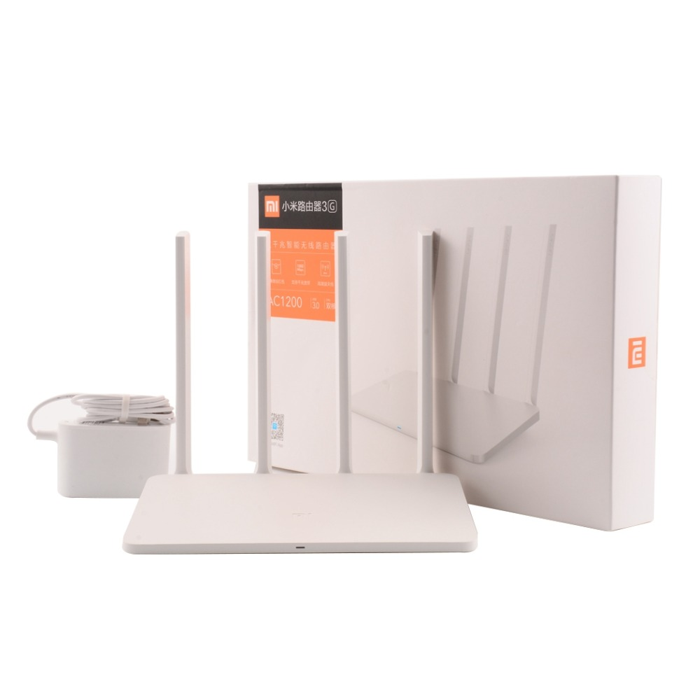 Original Xiaomi WIFI Router 3G With 256MB Memory 128MB Large Flash Dual Band 2.4G5G Gigabit USB 3.0 Mi Wireless Wifi Roteador (1)