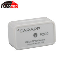 Mini Smart Car Trip Computer CARAPP V200 Work With IOS/Android Dual-System with Free Shipping