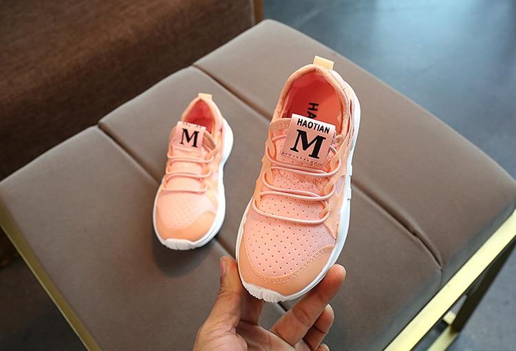 AFDSWG white mesh breathable children boy sport shoes pink fashion sneaker girl kids children shoes children shoes black