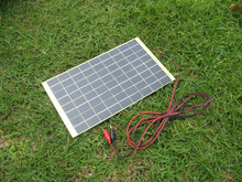 Hot* 10W 12V Portable SOLAR TRICKLE BATTERY CHARGER for car, RV, camp, marine,atv