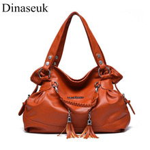 Dinaseuk Women Soft handbags PU Top Handle Purse Shoulder Bag Crossbody Travel Dating Working Hand Bags Woman Tote Purses(China)