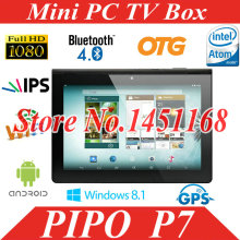 New product PIPO P7 9.4'' IPS 1280*800 RK3288 Quad Core 2GB + 16GB Android 4.4 tablet pc 2MP+5MP GPS Bluetooth(China)