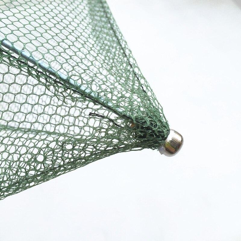 60x60cm 80x80cm 100x100cm Square Fishing Landing Net Trap Network for Catching Shrimp Crab Small Fishes Fishing Tool (2)