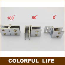 alloy hinge, bar glass door, cabinets, showcase hinge,hardware Suitable for glass thickness 5-8mm. 90/180/0 degree