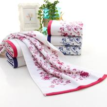 2017 NEW  34*74cm Soft Cotton Face Flower Towel Bamboo Fiber Quick Dry Towels  530