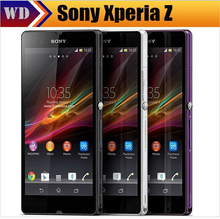 Xperia Z Original Sony Xperia Z L36h C6603 6602 Unlocked Smart Mobile phone 2MB RAM 13.1MP Quad Core refurbished phone