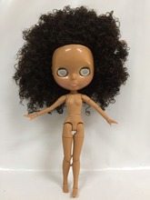 without eye chips joint body Nude Blyth Doll, Factory doll Fashion doll Suitable For DIY(China)