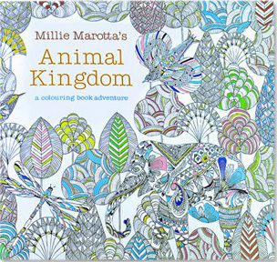24 Pages Drawing Book Animal Kingdom English Edition Coloring Book For Childs Adult Relieve Stress Kill Time Painting(China)