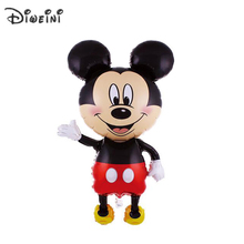 "DIWEINI 45""X25"" 114X63cm The New Children's Toys Birthday Party Balloon Decoration Foil Balloons Oversized Minnie Mickey Mouse"