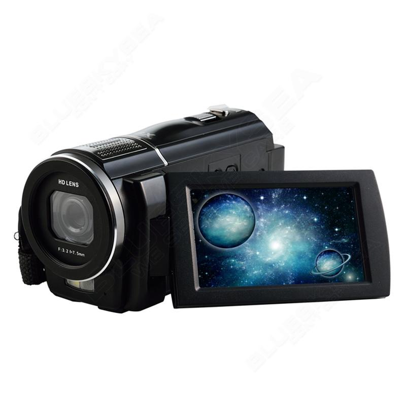 """ORDRO HDV-F5 1080P Digital Video Camera Max 24MP 16X Anti-shake 3.0"""" Touch Screen LCD Camcorder DV With Remote Controller 15"""