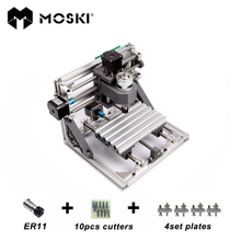 MOSKI ,CNC1610 with ER11,mini cnc laser engraving machine,Pcb Milling Machine,Wood Carving machine,cnc router,cnc 1610,toys gift(China)