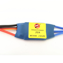 ZMR SimonK Firmware 20A 30A 40A 5V3A Brushless ESC Electric Speed Controller 2-4S LIPO for FPV Multi rotor Quad Standard Edition(China)
