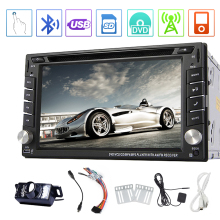 Double Din BT RDS PC Autoradio CD Audio System MP4 FM AM HeadUnit Video Music Car DVD Player GPS Radio Stereo 3D Map