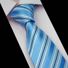 Mantieqingway Fashion Men Business Suits Tie Popular Mens Tie Cravats Brand Apparel Polyester Jacquard Striped Tie Dots Neckties