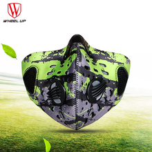 2016 Outdoor autumn Winter Rainproof Cycling Motorcycle Masks Anti-fog Pollution Face Mask&Carbon Filter Bicycle Dustproof Mask