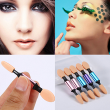 New 5PCS/box Pro Sponge Stick Eye Shadow Applicator Cosmetic Makeup Tools Double-head Eyeshadow Brush for Women makeup tool
