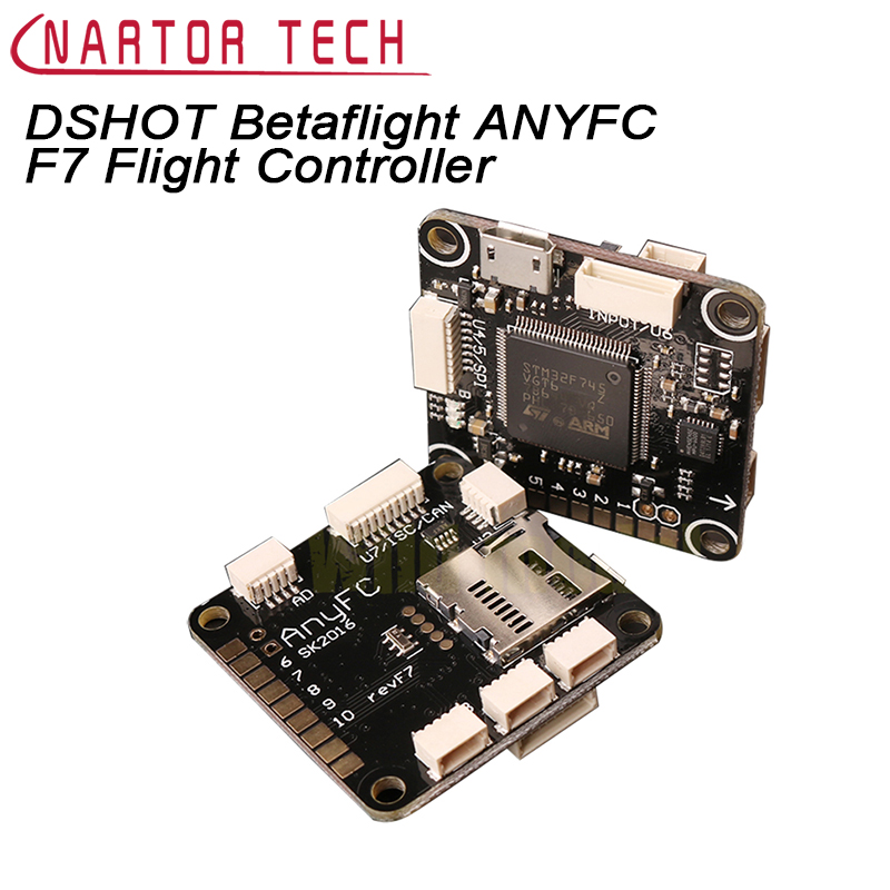 DSHOT Betaflight ANYFC F7 Flight Controller STM32F745 for FPV Racing Betaflight Better Than F3 F4 Flight Control Free Shipping<br>