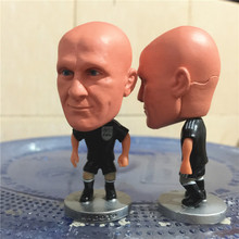 KODOTO 2017 Season 6.5 cm Height Football Referee Dolls Collina Figure for Fans Gift Black T-Shirt