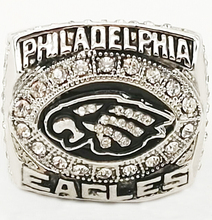 2004 American football League Philadelphia Eagles Super Bowl sale replica championship ring Fast shipping STR0-223(China)