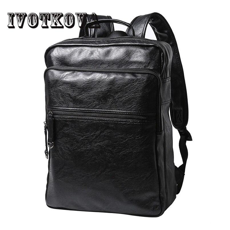 IVOTKOVA  Men Backpack Fashion Mochila Anti-theft 14-17inch Laptop backpack Women Schoolbag School Backpack for Teenagers<br>