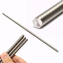 1pc Good Weldability Silver TC4 Titanium Alloy 6al-4v Round Bar Ti Gr.5 Rod Stick Grade 5 For Industry Tool 7*250mm Mayitr