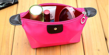 Water Proof Nylon Cosmetic Wash Bag Women Makeup Bag Organizer Beautician Washing Bag BS88