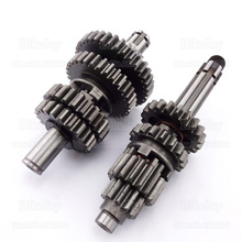 YX140 150 160 Transmission Gear Box Main Counter Shaft for YX 140cc 150cc 160cc Pit Dirt Bike Motor Cross Motorcycle Motorbike