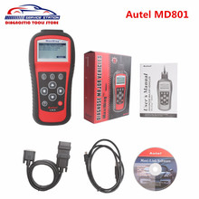 Original Autel MD801 maxidiag pro md801 4 in 1 scan tool MD 801 in stock Free DHL ship(China)