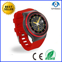 2016 Newest Arrival as wife best gift smartwatch phone watch With Heart rate SIM GPS WIFI 512M RAM 8GB ROM support app download