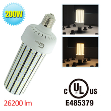 1000w metal halide replacement corn bulb 200w LED garage lighting  high bay light fixture factory price E39 mogul base Daylight