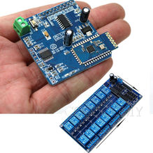 16 Channel Module + 16CH Bluetooth Relay Merge Android Remote control Switch for_Arduino Motor light Phone APP(China)