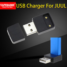 VapeDaddy Magnetic Adsorption Dual Port Universal USB Charger For JUUL 2 JUUL Cigarette accessories(China)
