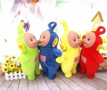 Free Post Entire Teletubbies plush toys (4 pieces / lot), wholesale line doll special doll plush doll genuine gift of children