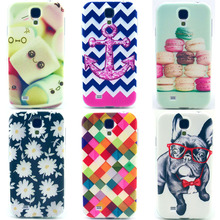 Mobile Phone Cover For Samsung Galaxy S4 i9500 i9505 SIV GalaxyS4 S 4 GT-I9500 GT-I9505 Case Silicon Soft TPU Shell Ultrathin
