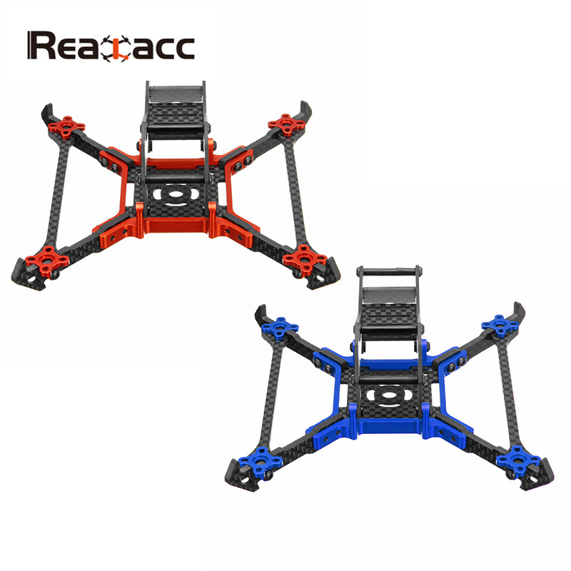 Realacc Real1M 140mm 3 Inch CNC Carbon Fiber RC Drone FPV Racing Frame Kit 3mm Vertical Arm For RC Multirotor DIY Parts Accs<br>