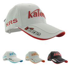 Free Shipping Men's golf hat (with MARK )sun-shading baseball cap golf ball cap,Can adjust the size(China)
