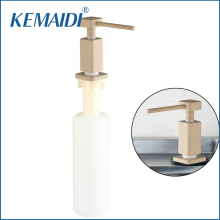 Brand Square 5653 Luxury Head Kitchen/Bathroom Sink Soap Dispenser Hand Liquid Soap Dispenser(China)