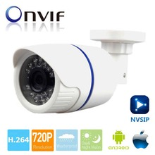 Mini IP Camera 720P 1.0MP Indoor Outdoor IR-CUT Night Vision CCTV Security Surveillance Video Cam ABS Plastic Mobile Phone View