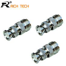 High quality R Connector BNC to N adapter BNC male plug TO N female jack adapter 1pc