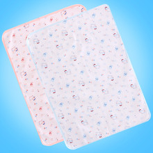 baby waterproof pad baby bed cover Breathable newborn Separates urine mattress pad 2016 cotton new soft A5021