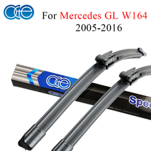 Oge Windshield Wiper Blades For Mercedes Benz GL Class W164 2005-2016 Pair 28''+21'' Windscreen Silicone Rubber Car Accessories(China)