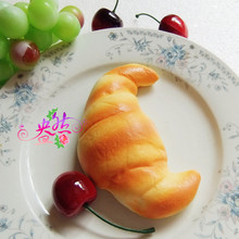 squishy bread Croissant toys soft Squeeze Relieves Stress Toy kawaii squishies soft Mobile Phone Straps
