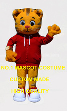 high quality tiger mascot costume adult size cartoon tiger theme school colleage sport carnival fancy dress kits 2607